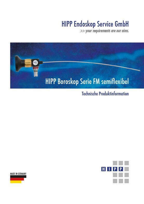 Boroscope, series FM - semiflexible