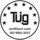 Our quality management system is EN ISO 9001 certified